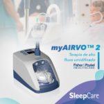 Terapia de alto fluxo domiciliar MyAIRVO 2